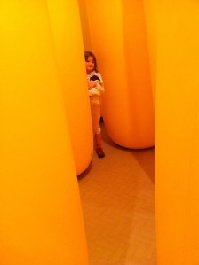 The Giant Yellow Maze and Miss Oh